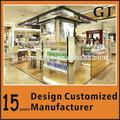 fábrica de madeira personalizado exposição cosmética contador em guangzhou