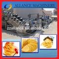 حار بيع الفولاذ المقاوم للصدأ 604 150kg/h التلقائي بالكامل خط انتاج آلة رقائق/ تصنيع رقائق البطاطس الخط