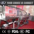 Automático de água quente de pulverização de esterilização a vapor equipamentos de vidro para garrafa/jarros