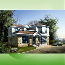 fashionalble style fast building steel frame house prefabricated house,simplex modular homes