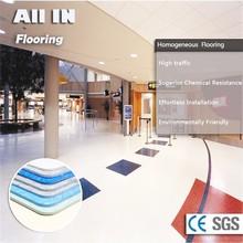 caliente duradera eco friendly pisodeplástico seco de color de la decoración
