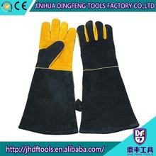 OEM quality safety black men's leather glove