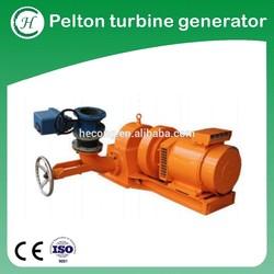 Pelton wheel for Mini hydropower plant