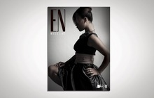 Popular abroad timely delivery fashion magazine