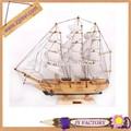 วันคริสมาสต์การตกแต่งของเล่นเรือใบเรือใบเลเซอร์ไม้สำหรับขาย