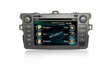 7'' Touch screen dual dvd player for car with gps/radio for Toyota Corolla 2010