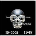 Blanc crâne nail art, Téléphone, Chaussures, Vêtements, Cap & collier décor nail, Alliage menicure 2014 fournisseur