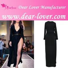 Wholesale Black party mature ladies good time usa dress