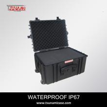 Plastic hard gun case hard plastic medical carrying cases with foam-model 584433
