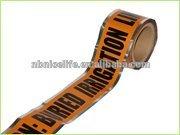 Nicelife Orange Underground Detectable Warning Tape