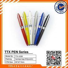 Custom logo screen touch ball pen, 4colors hanging pen