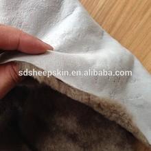 Natural Fur 100% Sheepskin Lining Wet Salted Sheep Skins
