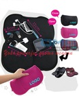 Custom LOGO Printing Promotional Real Neoprene Cargo Travel Organizer,PC Adapter Mouse Pad Mobile Phone Pouches , Cases Bags