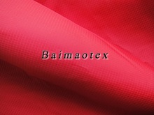 100 nylon waterproof fabric Sleeping bag fabric 210T waterproof fabric