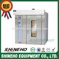 Vapor industrial fornos forno / forno de cozimento elétrica / 32 pan rotativo