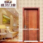 Foshan Swing Entry Interior Wood Door Solid Wooden Door