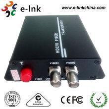 720P 1080P HDCVI Video over Fiber Converter for CCTV Security