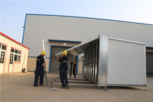 recycle used steel foldable sales flat pack homes for sale