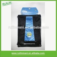 Football Club Mesh Polyester Drawstring Bag