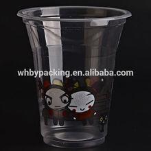 disposable ice slush plastic cup
