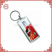 existing mold promotional wholesale useful plastic keychain photo holder