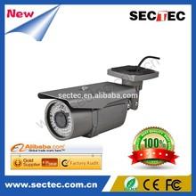 1.0 Megapixel Low Lux Network Bullet 720P IP Camera