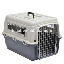 portable folding plastic Dog pet traveler Carrier pet carrier