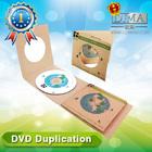 High quality dvd duplication in cardboard case