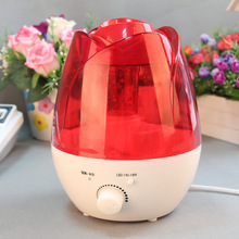 pp plastic flower aroma diffuser oil mini production at home ultrasonic humidifier