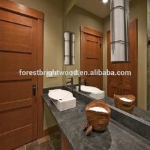 Interior solid wooden door door mahogany