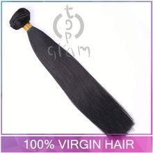 indain hair weave, TOPGLAM-2125 straight brazilian hair weft