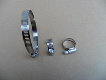 battery clips alligator clamps crocodile clip, factory supply hose clamps