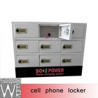 mobile phone charging station 9 docks 2014 gear box charger by machine