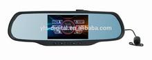 5.0 touch sceen car black box,8 GB flash is built inside full hd car black box