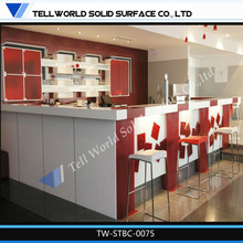 2014 new design Customize Commercial counter top hotel mini bar luxury bar furniture
