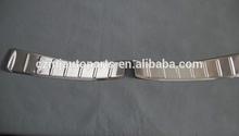 chrome rear bumper tread plates for ASX 2012,car accessories