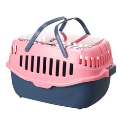 Plastic pet travel box pet basket Carriers Cage, Carrier & House Type and Eco-Friendly pet carrier