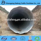 Galvanized corrugated steel pipe