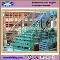 decoração interior use temperado vidro da escada