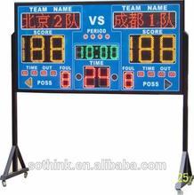Good quality LED used basketball scoreboard for sale