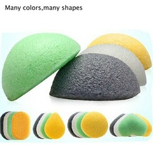 Pro Beauty Flawless Multi Shape konjac sponge/konjac sponge wholesale