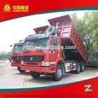 Hot sale !! mining dump truck 6x4, front lifting sand tipper dump truck 70ton