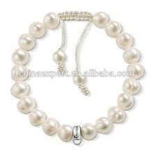 2014 New Arrival Handmade Elastic Pearl Bracelet