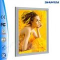 precio competitivo iluminado delgado de aluminio clip gráfico complemento marco