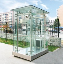 OEM ODM appreciated sentry box house, kiosks booth display, mobile sentry box of CE approved