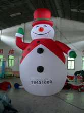 cheap price inflatable christmas cartoon/advertising model