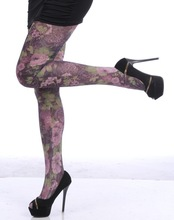 New Design Printing Flower Pantyhose / Tights