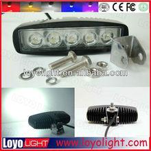 Wholesales car accessory mini led light bars 12v 24v 15W led work light , 15w led work lamp for truck