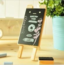 zakka groceries wall- hung wood blackboard teaching preschool office color display supplies with bracket