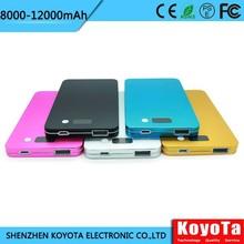 laptop metal case 4300mah mobile battery charger high quality li polymer battery MPJ03